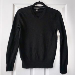 Banana Republic Extra Fine Wool Black Sweater